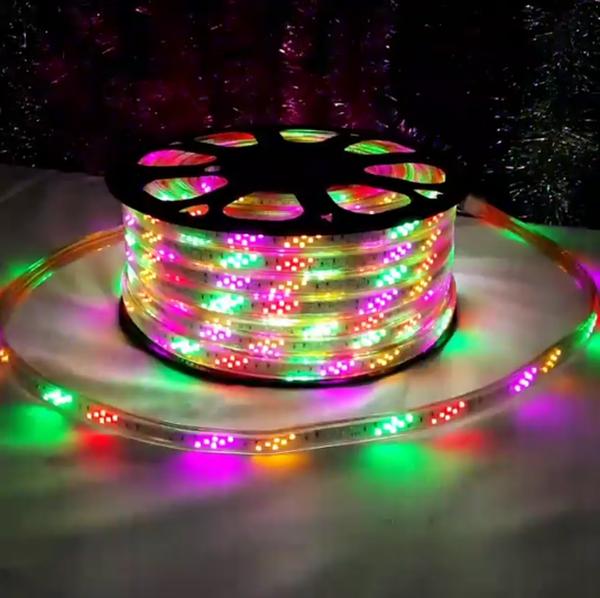 Новогодняя гирлянда светодиодная своими руками 8