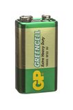 Фотография Батарейка GP GREENCELL 1604G/ 6F22, 9 В SR1