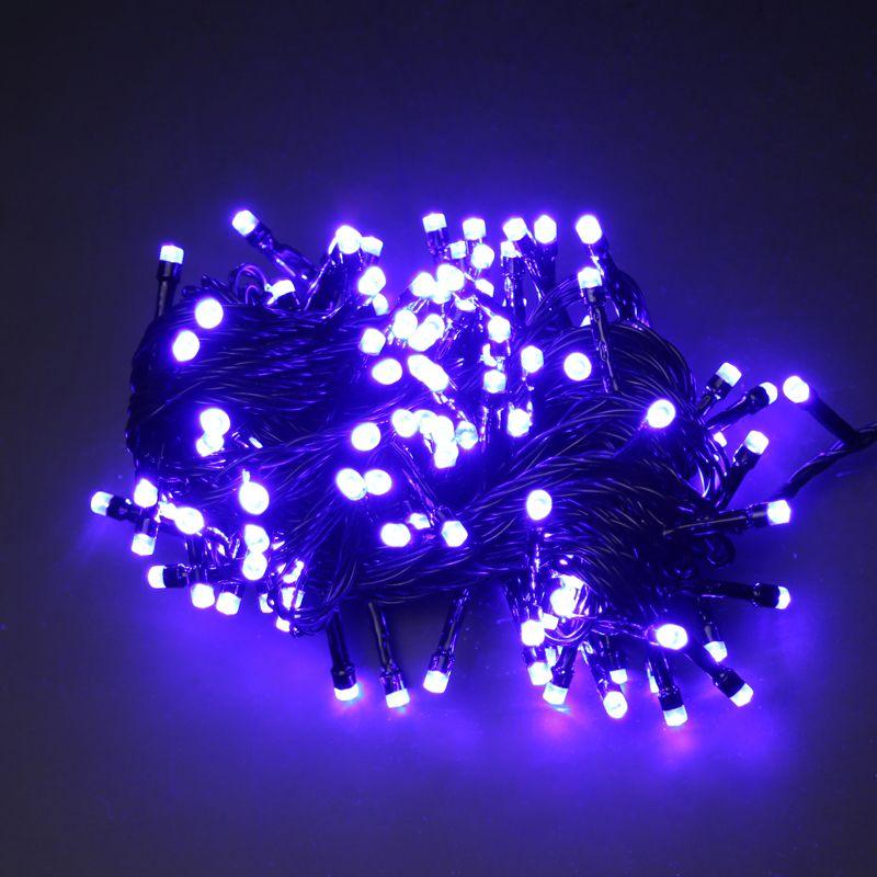 Новогодняя гирлянда светодиодная своими руками 11
